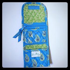 Vera Bradley blue and green wallet